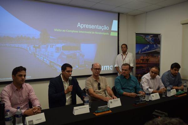 Visita técnica ao complexo intermodal de Rondonópolis coloca em pauta o planejamento da extensão dos trilhos até Cuiabá