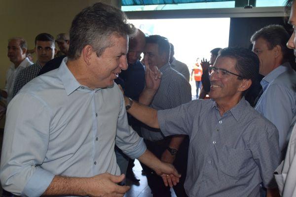 Ministro da Infraestrutura e governador de Mato Grosso visitam Rondonópolis