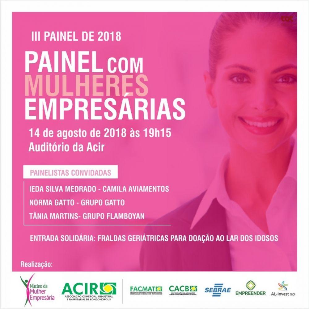 III Painel de Mulheres Empresárias
