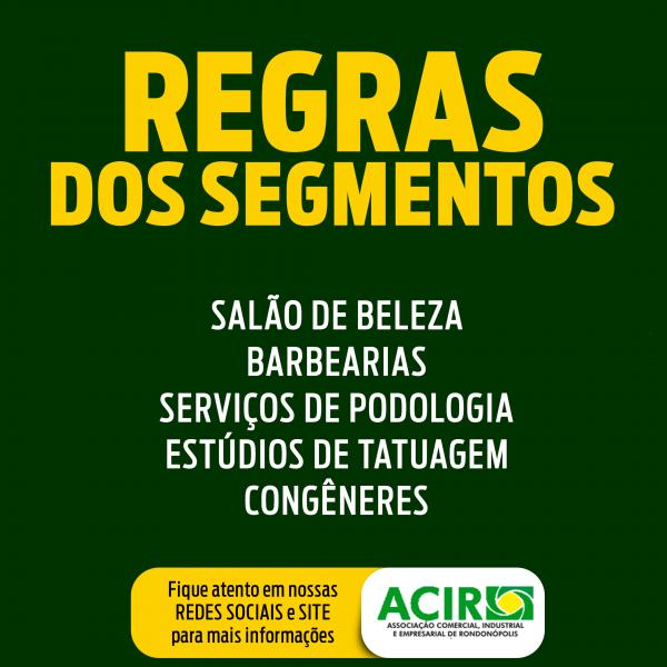SALÃO DE BELEZA, BARBEARIAS, SERVIÇOS DE PODOLOGIA, ESTÚDIOS DE TATUAGEM E CONGÊNERES