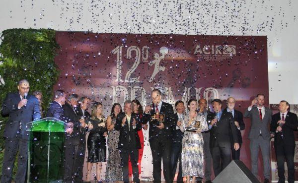 Prêmio Acir de Destaque Empresarial 2019: Uma noite de gala, inspirada no tempo de reis e rainhas para celebrar o empreendedorismo
