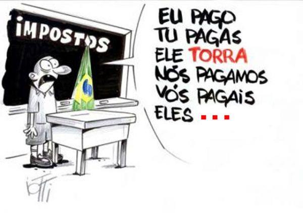 """DEPUTADOS PERMITEM E GOVERNO DE MATO GROSSO AUMENTA IMPOSTOS. """"É verdade esse bilhete."""""""