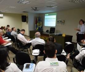 Reunião de encerramento de atividades e apresentação de relatórios