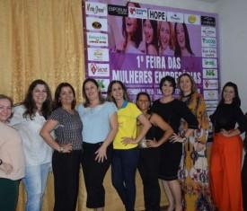 Primeira Feira de Mulheres Empresárias é sucesso