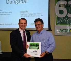 Sétima edição do Perfil Rondonópolis é lançada no aniversário da ACIR