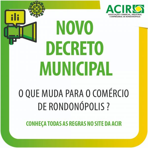 REGRAS DO NOVO DECRETO MUNICIPAL Nº 10.000, DE 09 DE ABRIL DE 2021